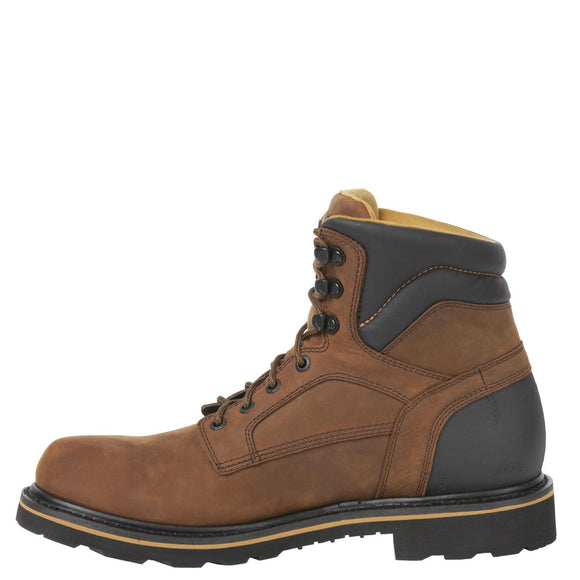 Rocky Men's Governor Gore-Tex WP Work Boot - Dark Brown RKYK001