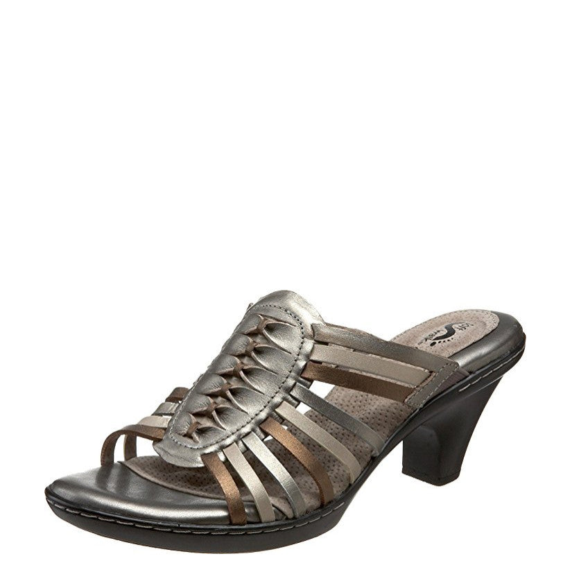 Soft Walk Women's Rio Strappy Heel Sandal - Metallic Multi S1007-015