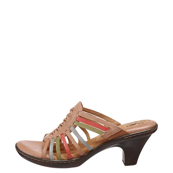 Soft Walk Women's Rio Strappy Heel Sandal - Bright Multi S1007-985