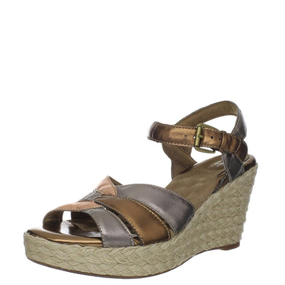 Soft Walk Women's St. Helena Wedge Sandal - Metallic Multi S1301-015