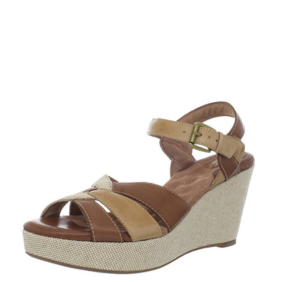Soft Walk Women's St. Helena Wedge Sandal - Natural Multi S1301-290