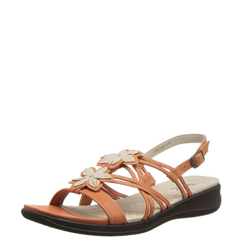 Soft Walk Women's Tobago Sandal - Orange/Nude S1401-817
