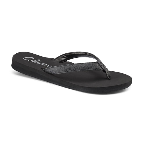 Cobian Women's Skinny Bounce Sandals - Black SKB16-001