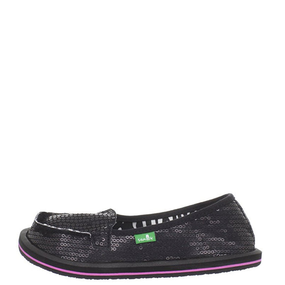 Sanuk Kid's Limelight - Black/Zebra SKF1044