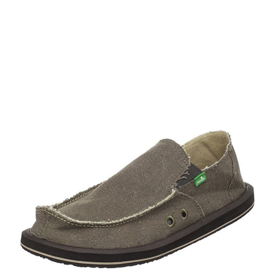 Sanuk Men's Vagabond - Brown SMF1001 - ShoeShackOnline