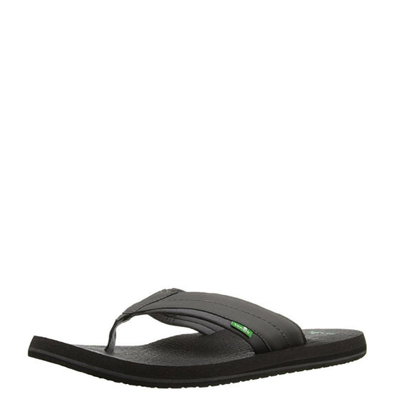 Sanuk Men's Beer Cozy 2 Sandal - Charcoal SMS10868 - ShoeShackOnline