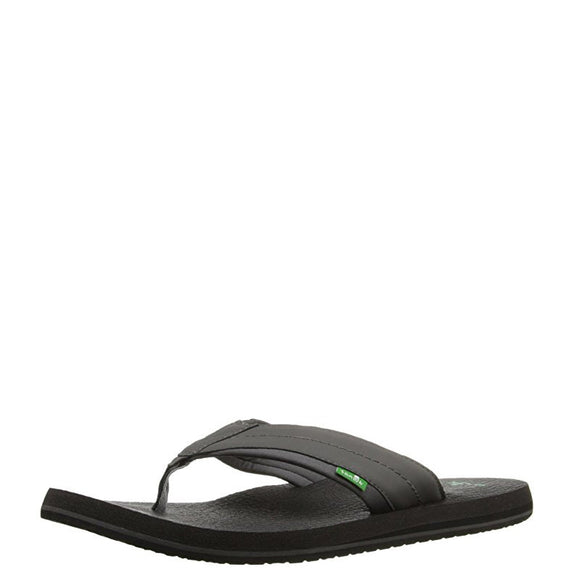 Sanuk Men's Beer Cozy 2 Sandal - Charcoal SMS10868
