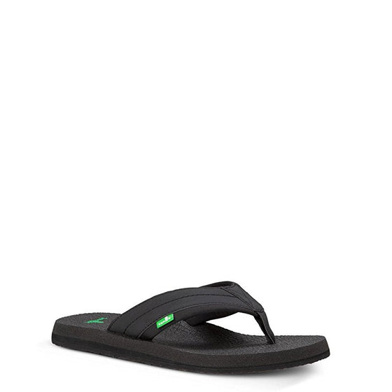 Sanuk Men's Beer Cozy 2 Sandal - Black SMS10868 - ShoeShackOnline