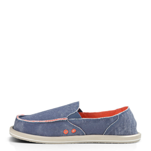 Sanuk Women's Donna Distressed - Slate Blue SWF11137