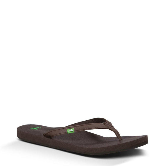 Sanuk Women's Yoga Joy - Brown SWS10275 - ShoeShackOnline