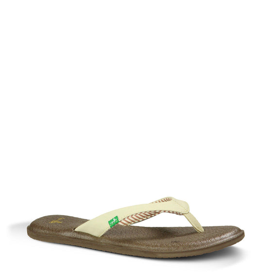 Sanuk Women's Yoga Chakra - Light Natural SWS10577