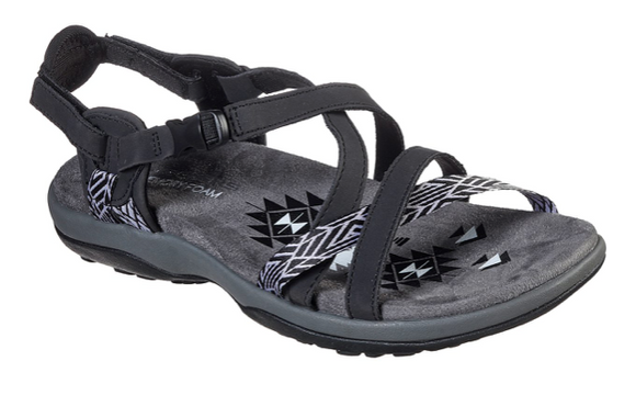 Skechers Women's Reggae Slim- StayCation Sandal 163081
