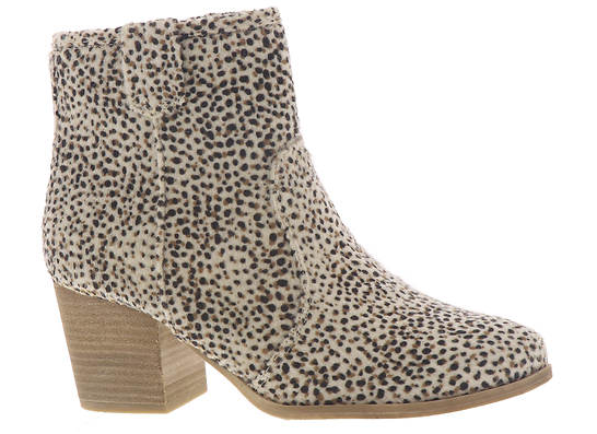 Very G Women's Leo Block Heel Bootie