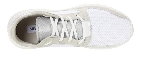 Steve Madden Women's Run Sneaker White Multi
