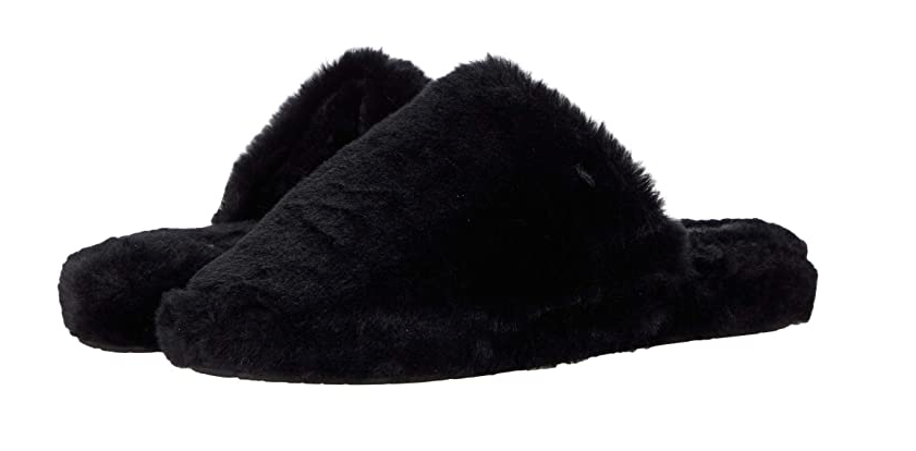 Dirty Laundry Women's Come Out Faux Fur Slippers