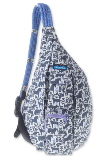 Kavu Rope Bag - 923-1017 Charcoal Fable