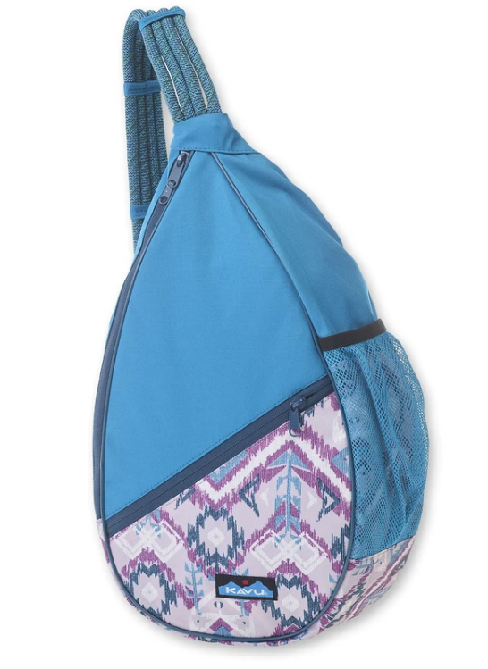 Kavu Paxton Pack - 870-1174 Purple Ikat