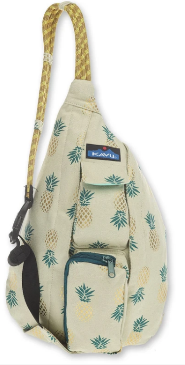 Kavu Mini Rope Bag - 9150-1145 Pineapple Express