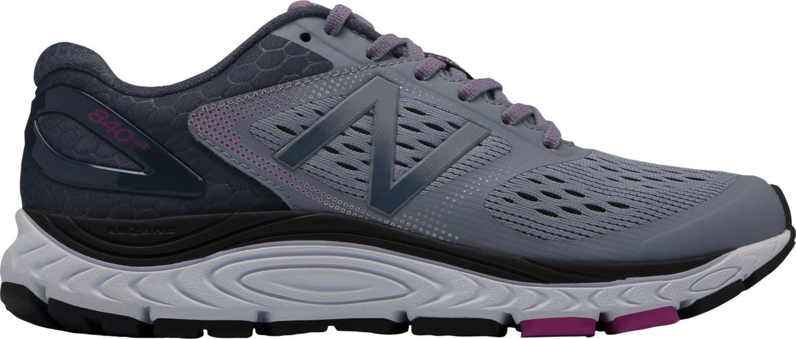 New Balance Women's 840v4 Running Shoe - Cyclone/Poisonberry W840GO4 - ShoeShackOnline