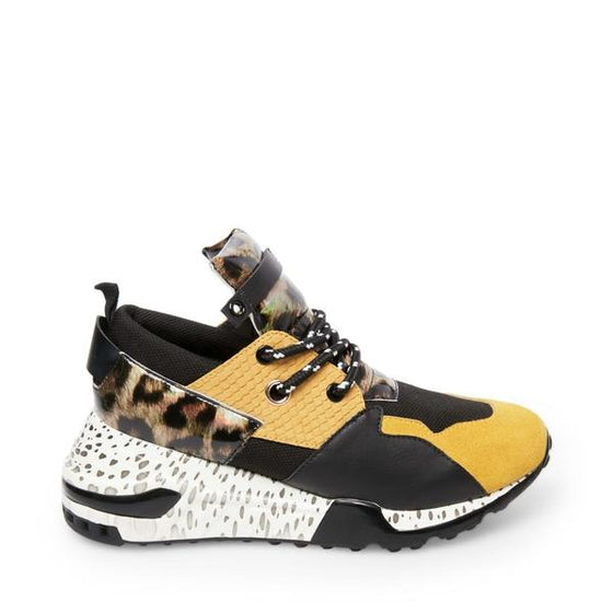 Steve Madden Women's Cliff Fashion Sneakers - Yellow Multi CLIF02S1 - ShoeShackOnline