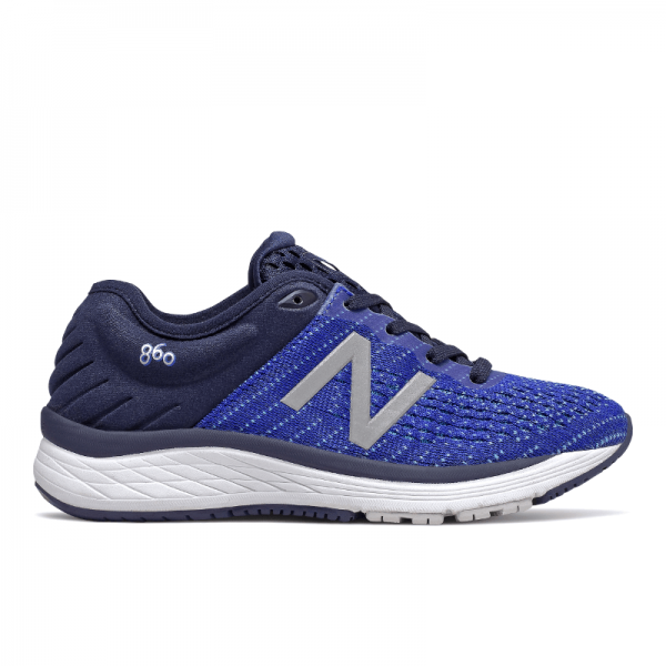 New Balance Kid's 860v10 Tennis Shoe - UV Blue/Bayside YP860B10 - ShoeShackOnline