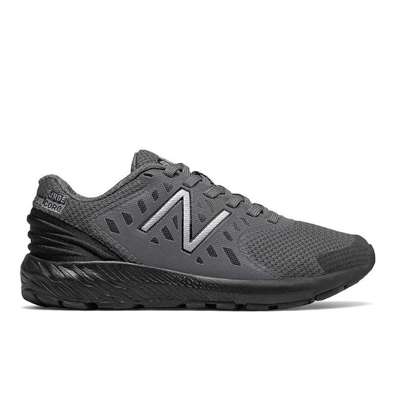 New Balance Kid's Tennis Shoe - Castlerock/Black YPURGCB - ShoeShackOnline