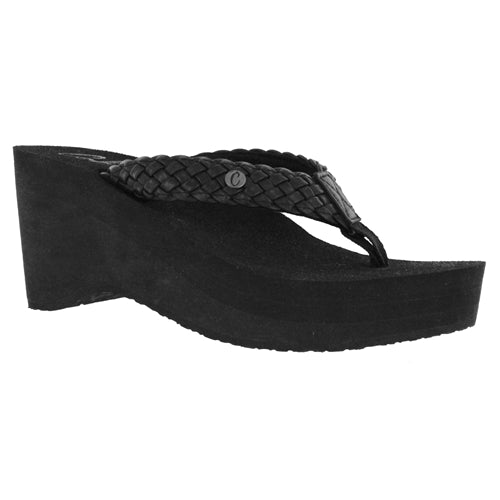 Cobian Women's Zoe Wedge Sandal - Black ZOE10-001 - ShoeShackOnline