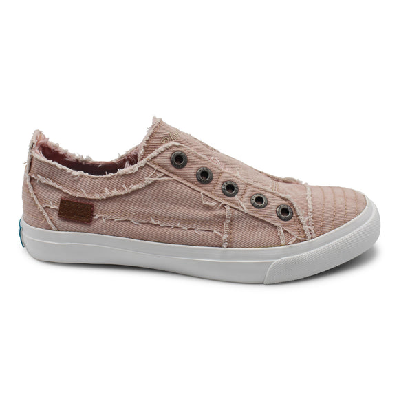 Blowfish Women's Play Slip On Sneaker - Dirty Pink Hipster Smoked ZS-0061 - ShoeShackOnline