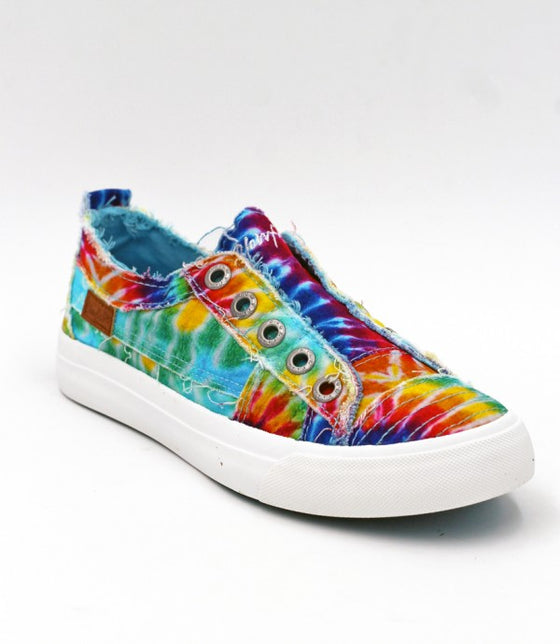 Blowfish Women's Play Slip On Sneaker ZS-0061 - Tie Dye - ShoeShackOnline