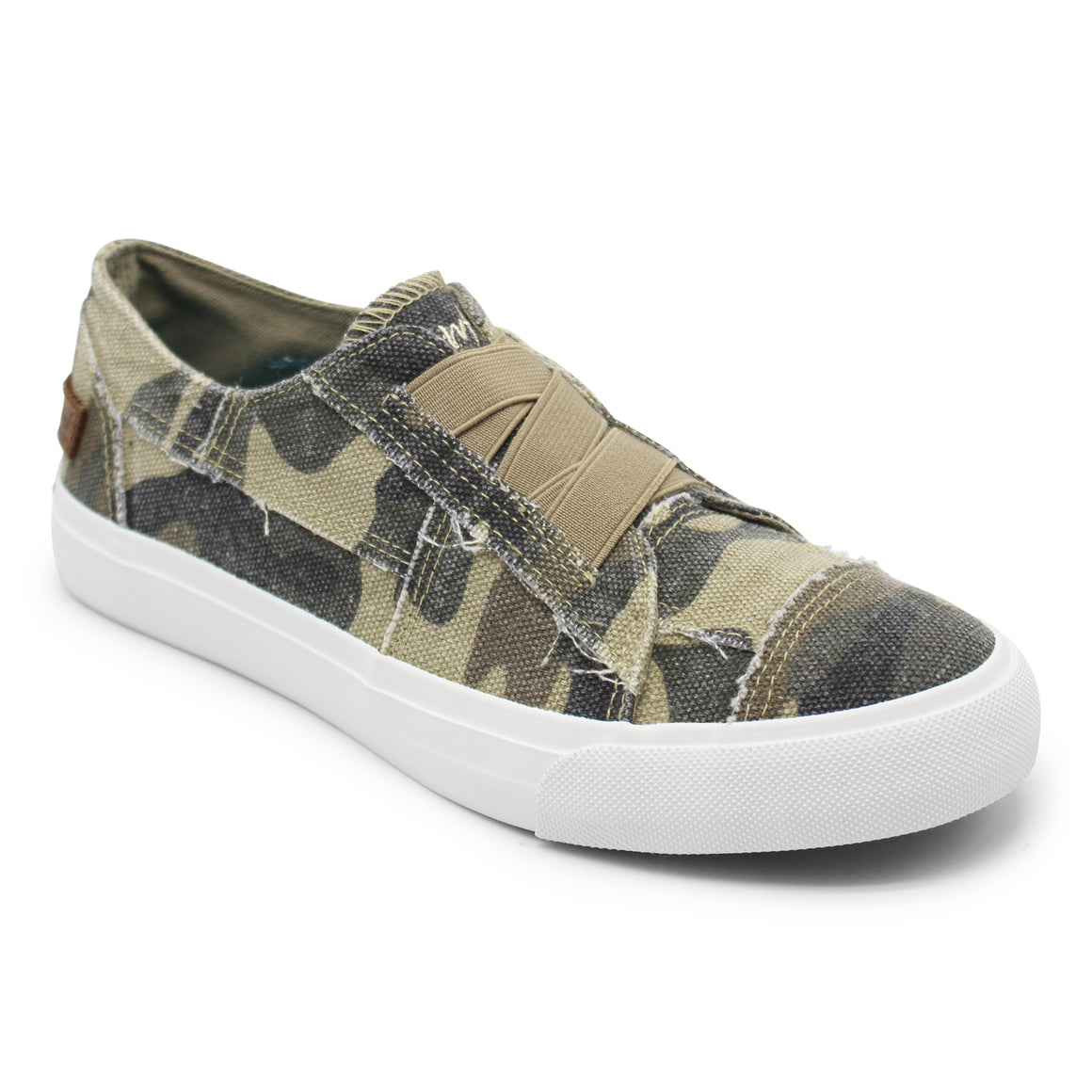 Blowfish Women's Marley Slip-On Sneaker - Natural Camo ZS-0071 - ShoeShackOnline