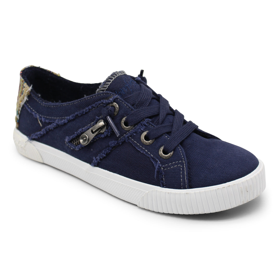Blowfish Women's Fruit Lace Up Shoe ZS-0269 - Pure Navy - ShoeShackOnline