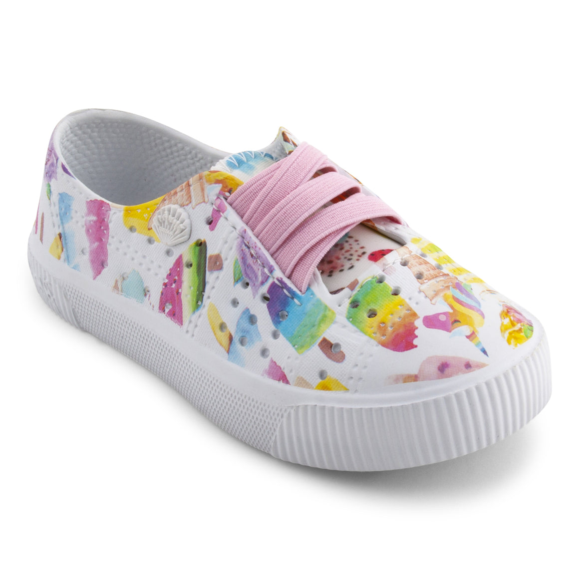 Blowfish Toddler's Rioo-T Slip On Shoe Off White Unicorn