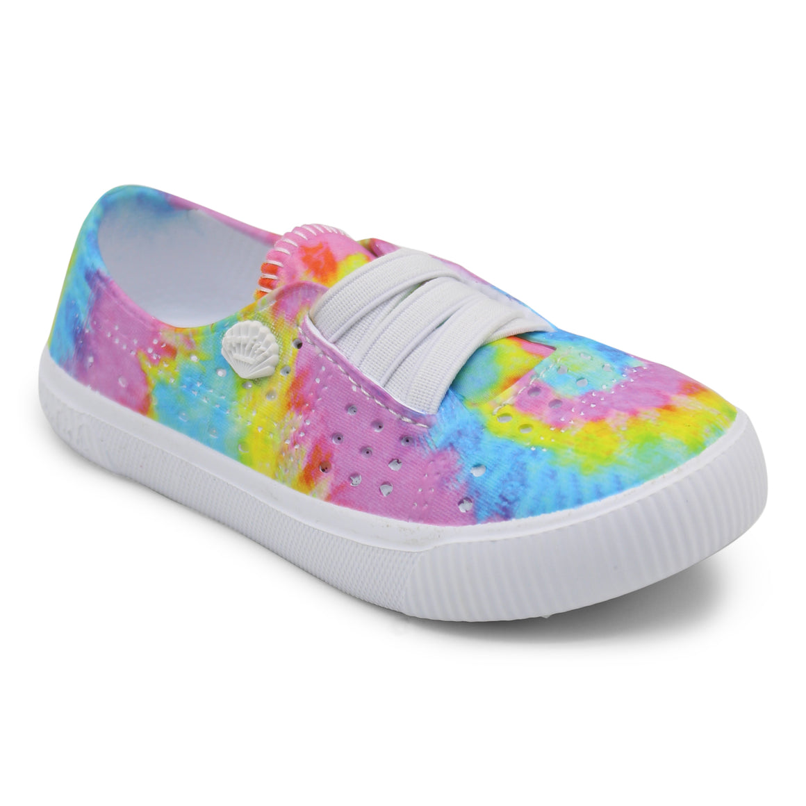 Blowfish Toddler's Rioo-T Slip On Shoe Pastel TieDye/ White