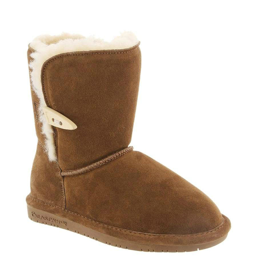 Bearpaw Kid's Abigail Boot - Hickory 682Y-220 - ShoeShackOnline