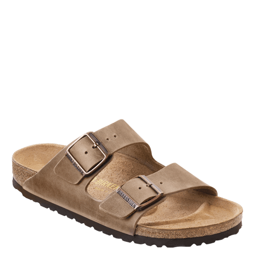 Birkenstock Arizona - Tobacco Brown | Oiled Leather - 352201 - ShoeShackOnline