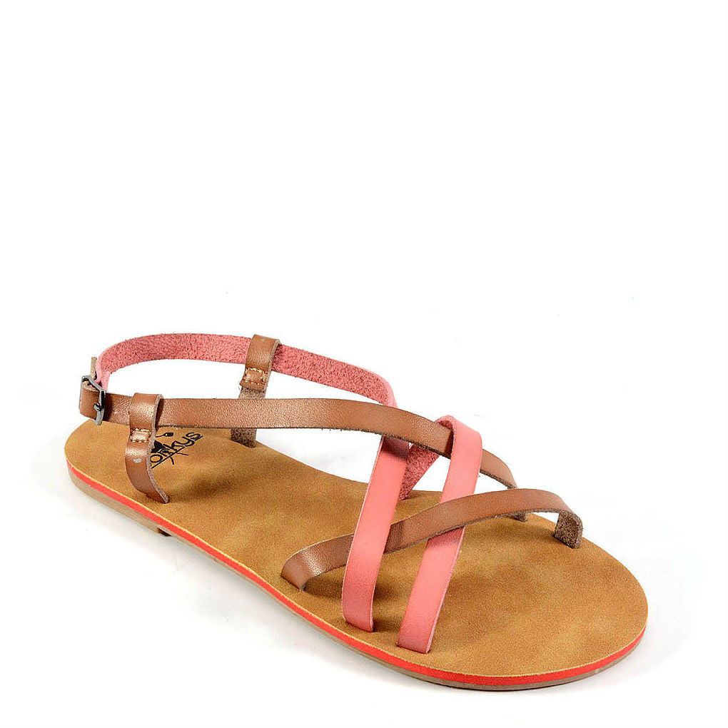 Corkys Women's Baja | Coral/Tan 40-3113 - ShoeShackOnline