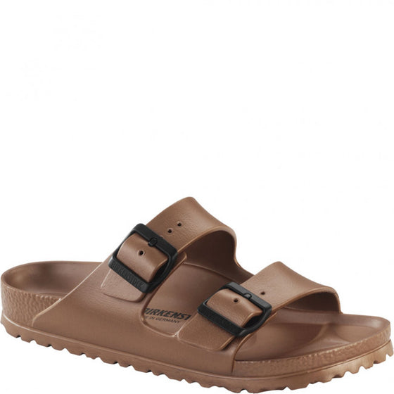 Birkenstock Women's Arizona EVA Sandal Metallic Copper - 1001500 - ShoeShackOnline
