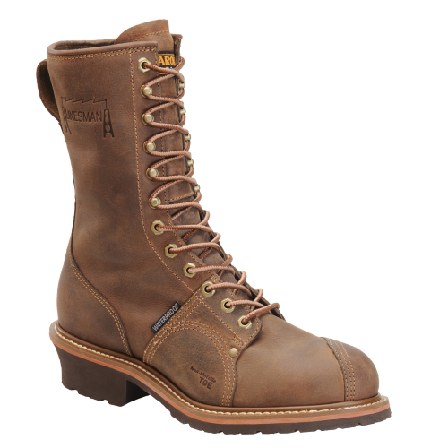 "Carolina Men's 10"" Composite Toe Linesman Boot - CA1904 - ShoeShackOnline"