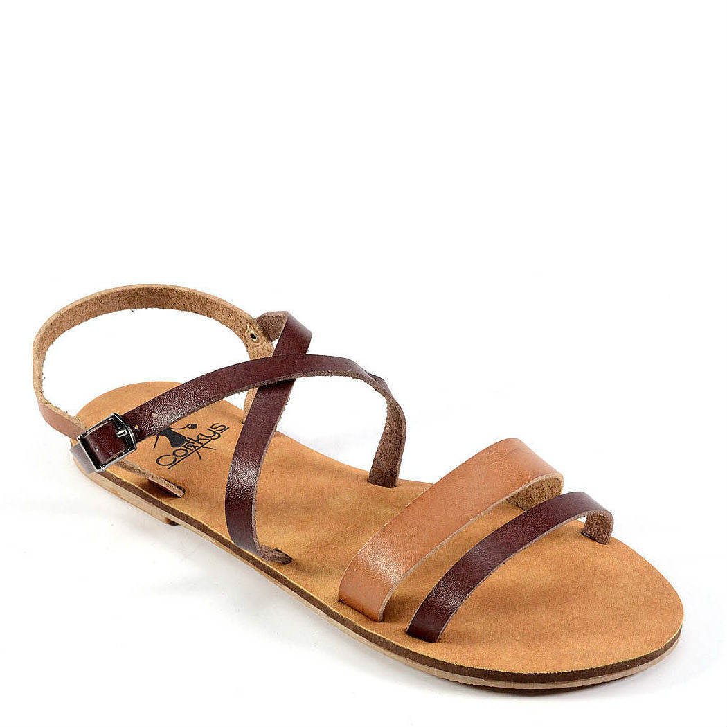 Corkys Women's Cabos | Chocolate/Tan 40-3105 - ShoeShackOnline