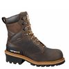 "Carhartt Men's 8"" Vintage Saddle Safety Toe Logger Boot - CML8360 - ShoeShackOnline"