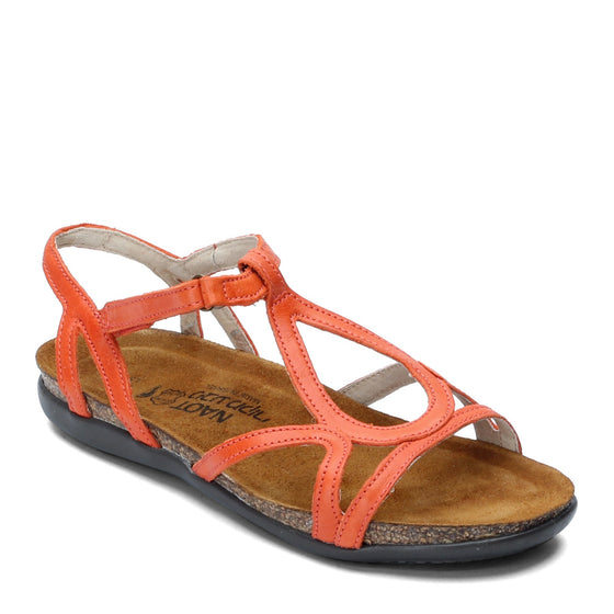 Naot Women's Dorith Sandal - Orange Leather 04710 - ShoeShackOnline