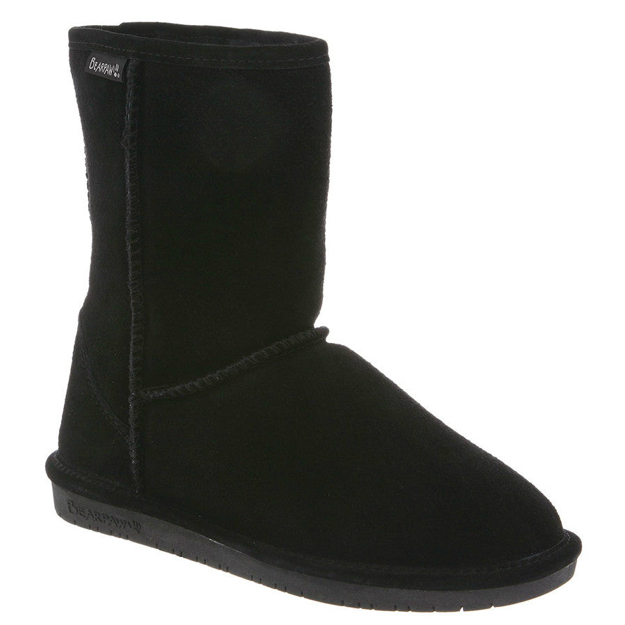 "Bearpaw Women's Emma 8"" - Black 608W-011 - ShoeShackOnline"