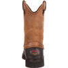 "Georgia Men's 12"" Muddog Wellington Work Boot - Mississippi Brown G5514 - ShoeShackOnline"