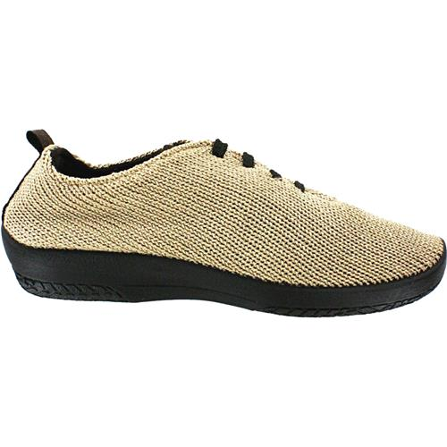 "Arcopedico Women's LS Knit ""Shocks"" Comfort Shoe 1151 Beige"