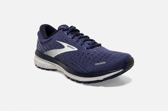 Brooks Men's Ghost 13 Running Shoe 1103481D Navy/Grey