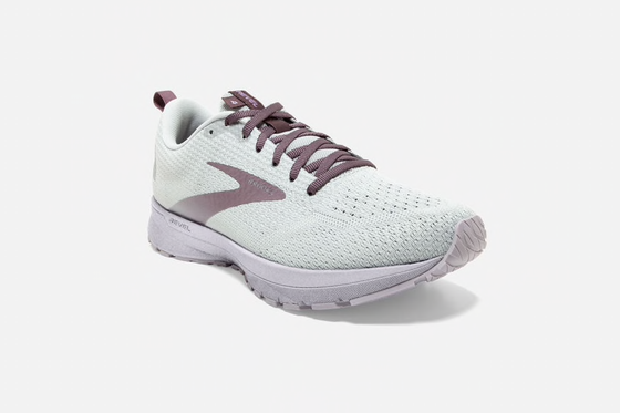 Brooks Women's Revel 4 Running Shoe 1203371B Oyster/Lilac