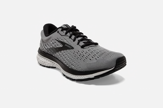 Brooks Men's Ghost 13 Running Shoe 1103481D Grey/Black