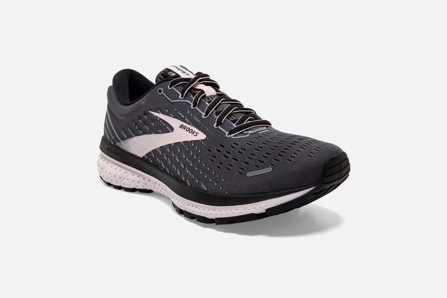 Brooks Ghost 13 Women's Running Shoe Black/Pearl Hushed