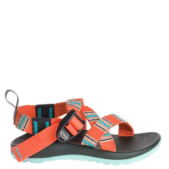 Chaco Kid's Z/1 Ecotread - Banded Coral J180006 - ShoeShackOnline