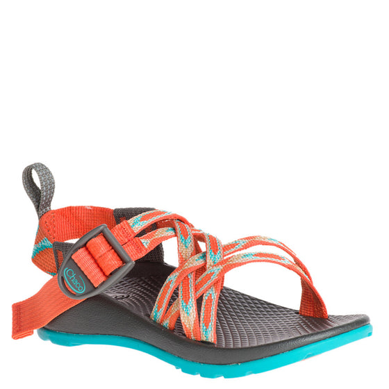 Chaco Kid's ZX/1 Ecotread - Zigzag Coral J180010 - ShoeShackOnline